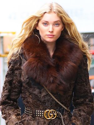 Elsa Hosk Wore the Chicest No-Pants Outfit in New York