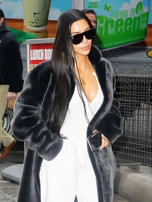 Kim Kardashian Is Going Through a '90s Style Phase