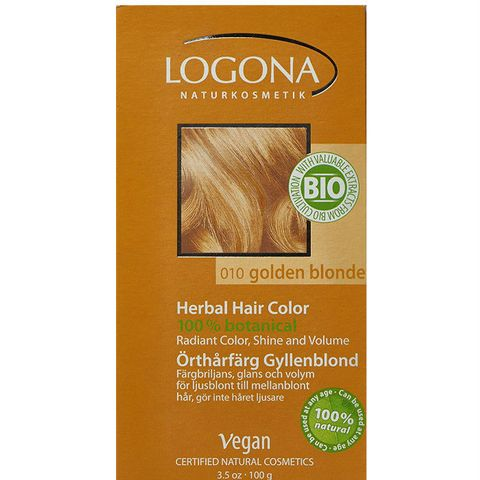 Herbal Hair Colour in Golden Blonde