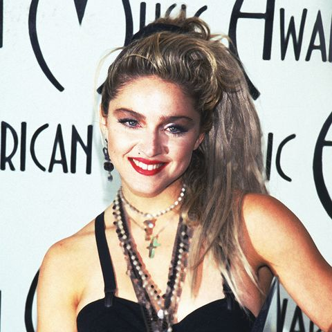 Madonna in the bodysuit was the pinnacle of eighties fashion