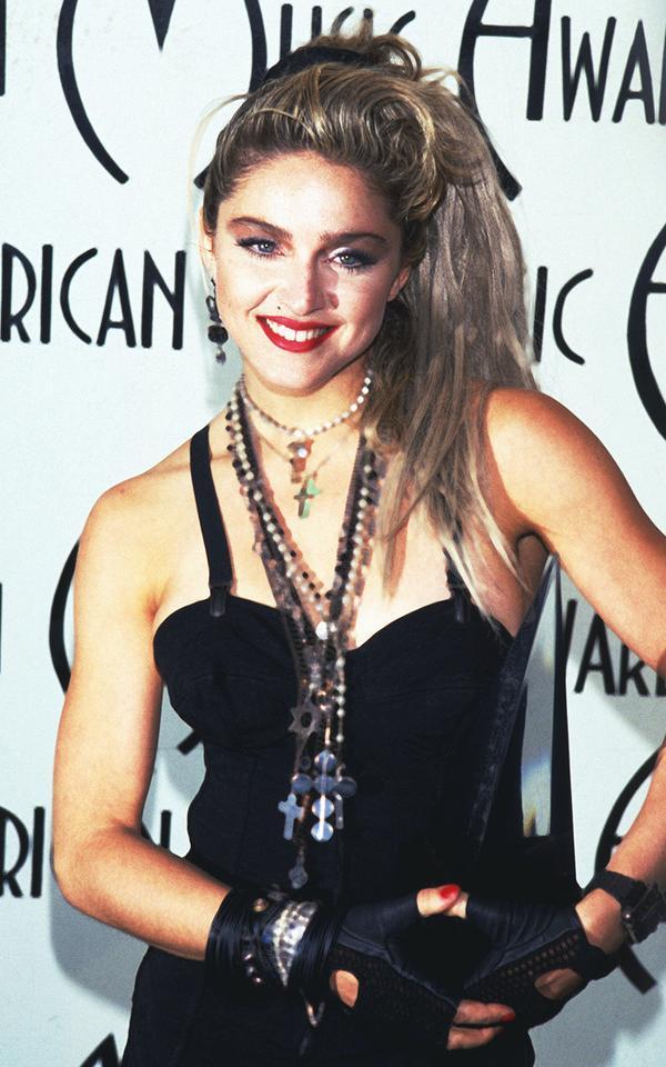 Eighties fashion: Madonna in a bodysuit
