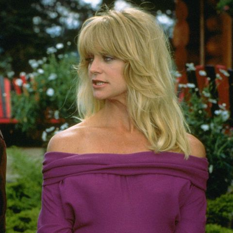 Goldie Hawn's ultimate eighties fashion look? This one from the film Bird on a Wire