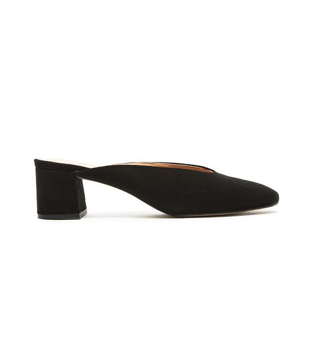 Intentionally Blank Daisy in Black Suede
