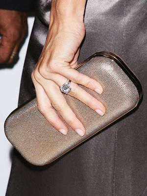 The #1 Engagement Ring Shape Worn by Hollywood's Longest-Lasting Couples