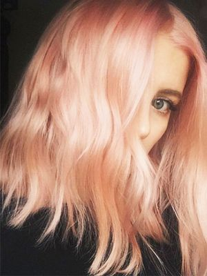 Sunset Blonde Is 2017's Version of Rose Gold, and It's Stunning