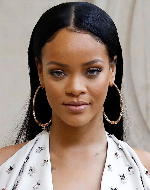 Makeup artist Mylah Morales says Rihanna swears by Giorgio Armani's formula to keep her skin glowy (not sweaty).