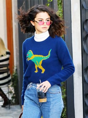 Selena Gomez Just Wore the Perfect Coffee-Run Outfit