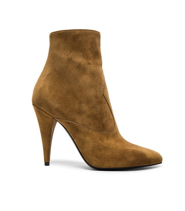 Suede boot fetish it's