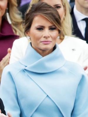 Melania Trump Wore Ralph Lauren to Inauguration Day