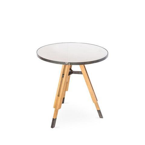 Tripod Wood Table