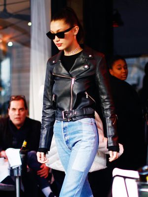 Bella Hadid Just Added a French-Girl Twist to Her Usual Style
