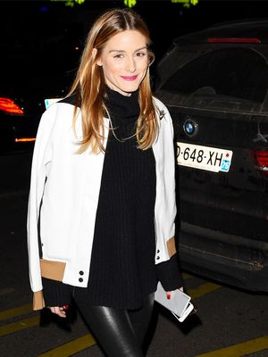 The Unexpected Piece Olivia Palermo Wears With Leggings and Booties