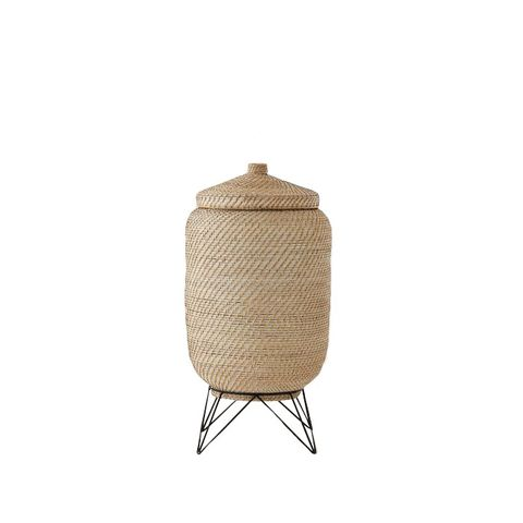 Woven Baskets with Hairpin Stand