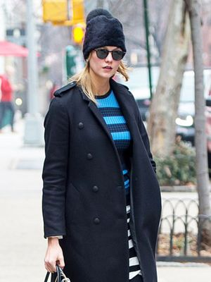 You'll Love Karlie Kloss's Fresh Take on the Sweaterdress