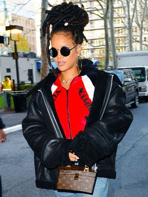 Rihanna Just Wore the Coolest DIY Timberland Boots