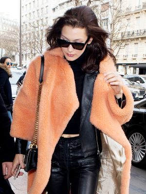 Bella Hadid Wore the Outfit Parisian Girls Love Right Now