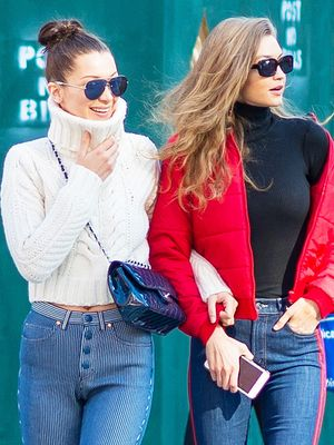 Gigi and Bella Hadid Are Still Endorsing This Denim Trend