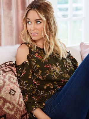 How Lauren Conrad Pairs Jeans With Ankle Boots