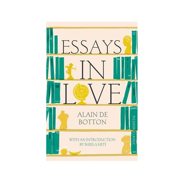 alain de botton essays on love Essays in love [alain de botton] on amazoncom free shipping on qualifying offers.