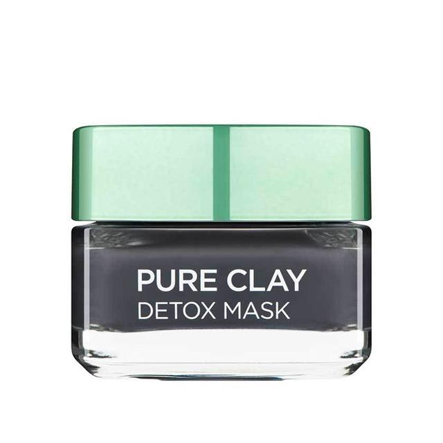 best charcoal masks: L'Oreal Paris Pure Clay Detox Mask