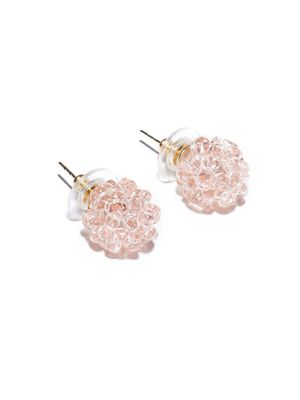 How Chic Are These Raspberry Earrings?