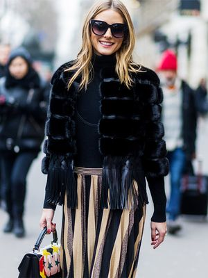 Olivia Palermo's Super Bowl Look Is Giving Us Game Day Style Goals