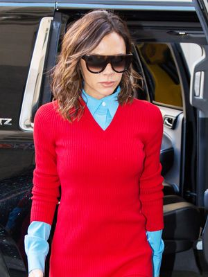 Victoria Beckham Can't Stop Wearing This Outfit Combo