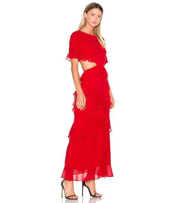 Fame and Partners Marisa Maxi Dress