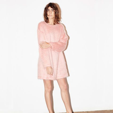 Candy Rose Mohair Cosy Jumper Dress