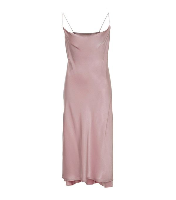 Protagonist Draped Slip Dress