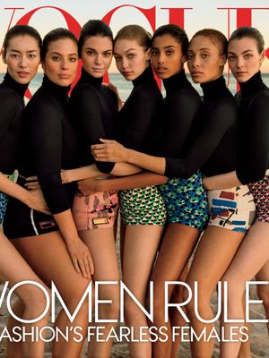 Ashley Graham, Kendall Jenner, and More Share Vogue's New Cover