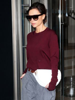 Can You Guess Which Shoes Victoria Beckham Wore for NYC's Blizzard?