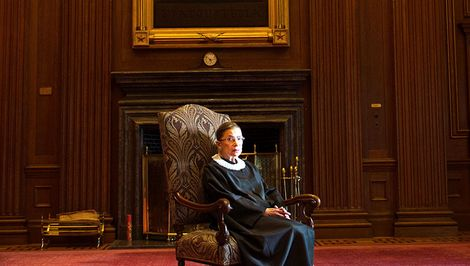 Here's What Notorious RBG Wants You to Know About Working Moms