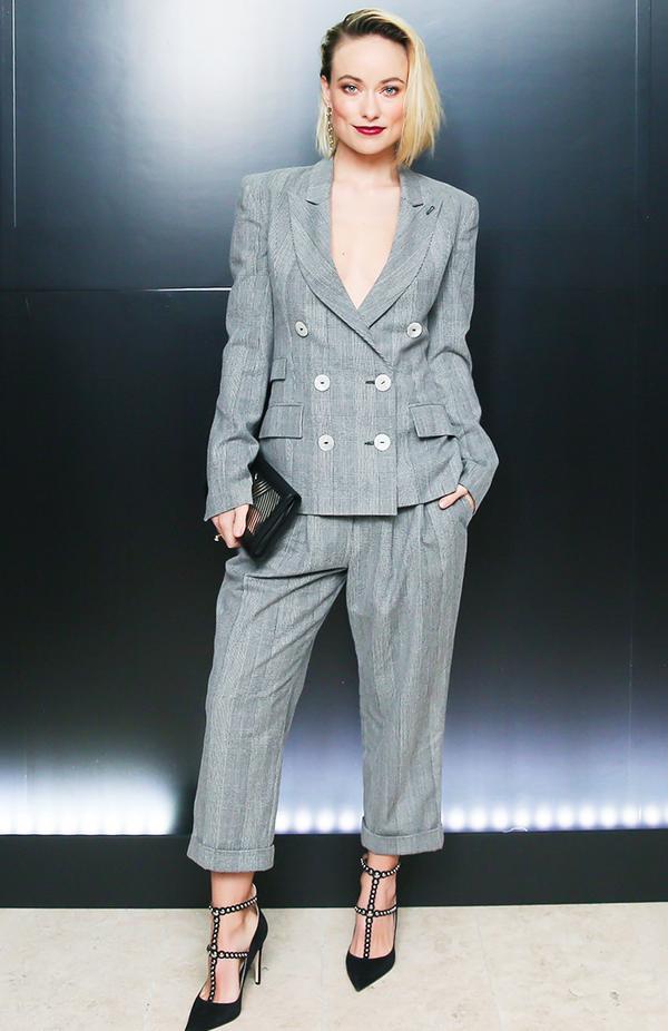 New York Fashion Week February 2017 Front Row: Olivia Wilde