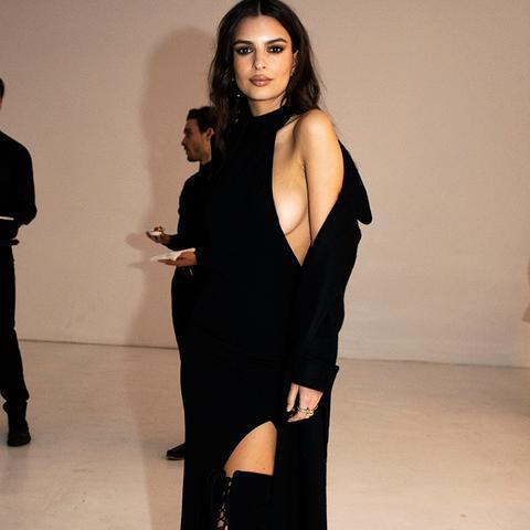 New York Fashion Week February 2017 Front Row: Emily Ratajkowski