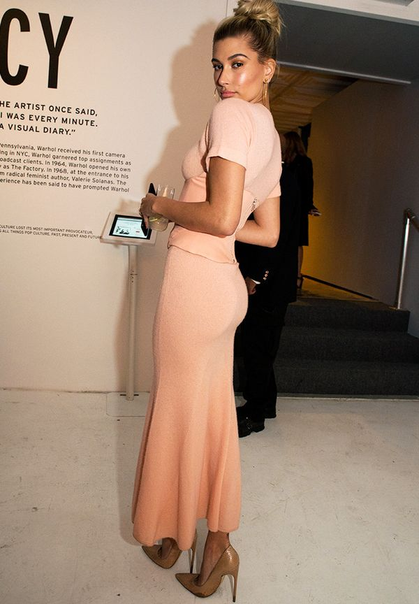 New York Fashion Week February 2017 Front Row: Hailey Baldwin