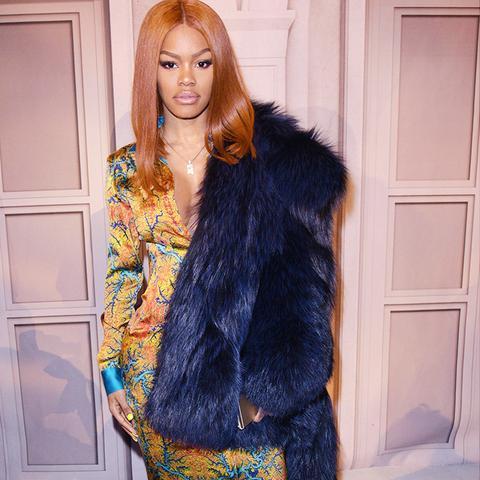 New York Fashion Week February 2017 Front Row: Teyana Taylor