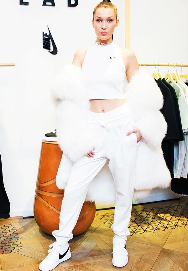 New York Fashion Week February 2017 Front Row:  Bella Hadid