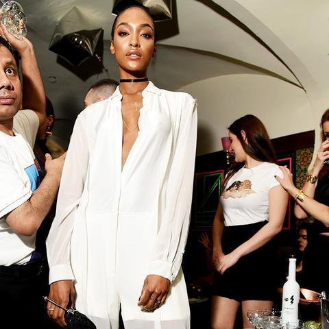 New York Fashion Week February 2017 Front Row: Jourdan Dunn