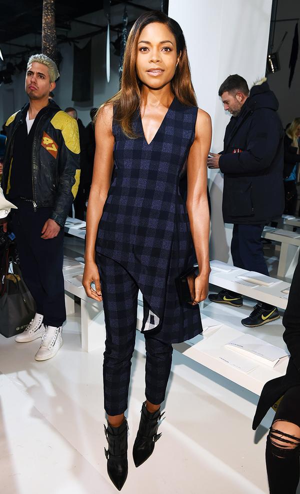 New York Fashion Week February 2017 Front Row: Naomie Harris