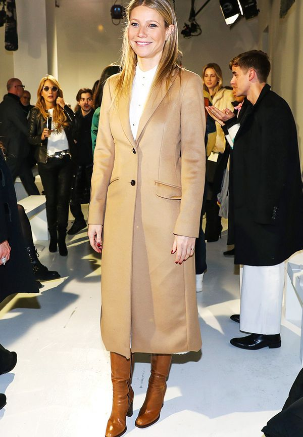 New York Fashion Week February 2017 Front Row: Gwyneth Paltrow