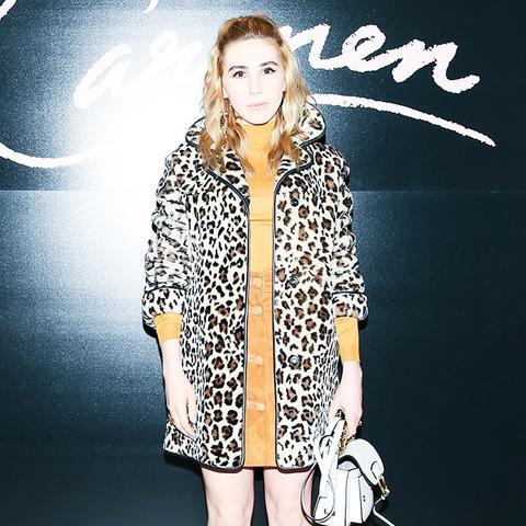 New York Fashion Week February 2017 Front Row: Zosia Mamet