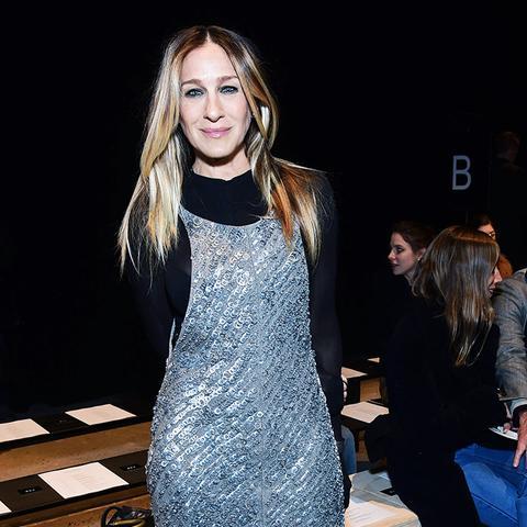 New York Fashion Week February 2017 Front Row:  Sarah Jessica Parker