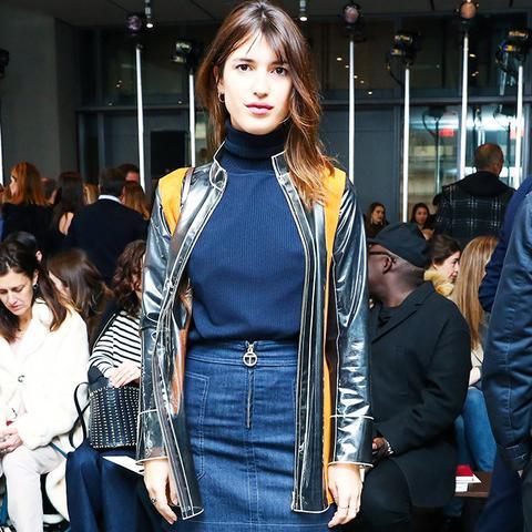 New York Fashion Week February 2017 Front Row: Jeanne Damas