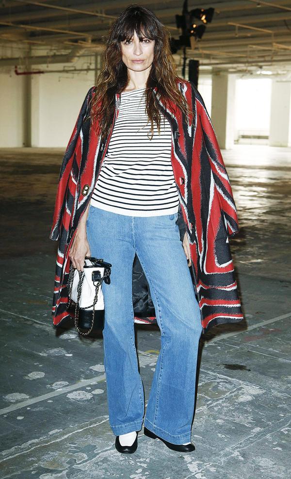 New York Fashion Week February 2017 Front Row: Caroline de Maigret