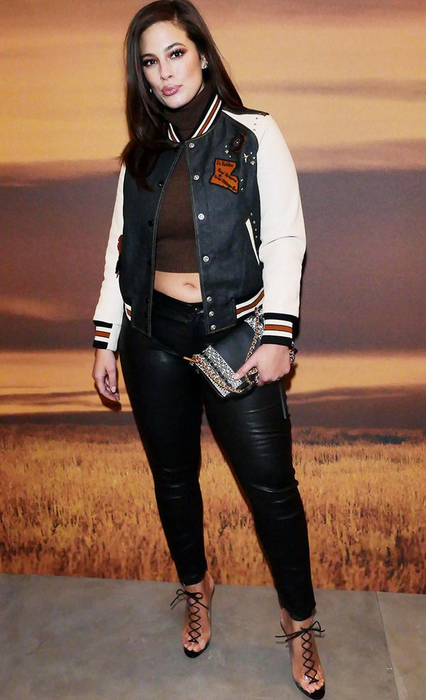 New York Fashion Week February 2017 Front Row: Ashley Graham