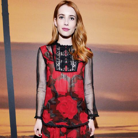 New York Fashion Week February 2017 Front Row: Emma Roberts