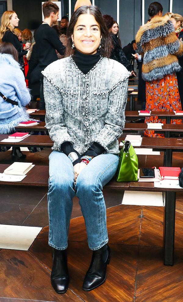 New York Fashion Week February 2017 Front Row:  Leandra Medine of Man Repeller