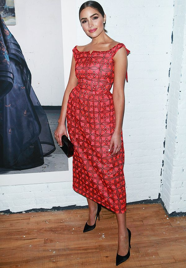 New York Fashion Week February 2017 Front Row: Olivia Culpo