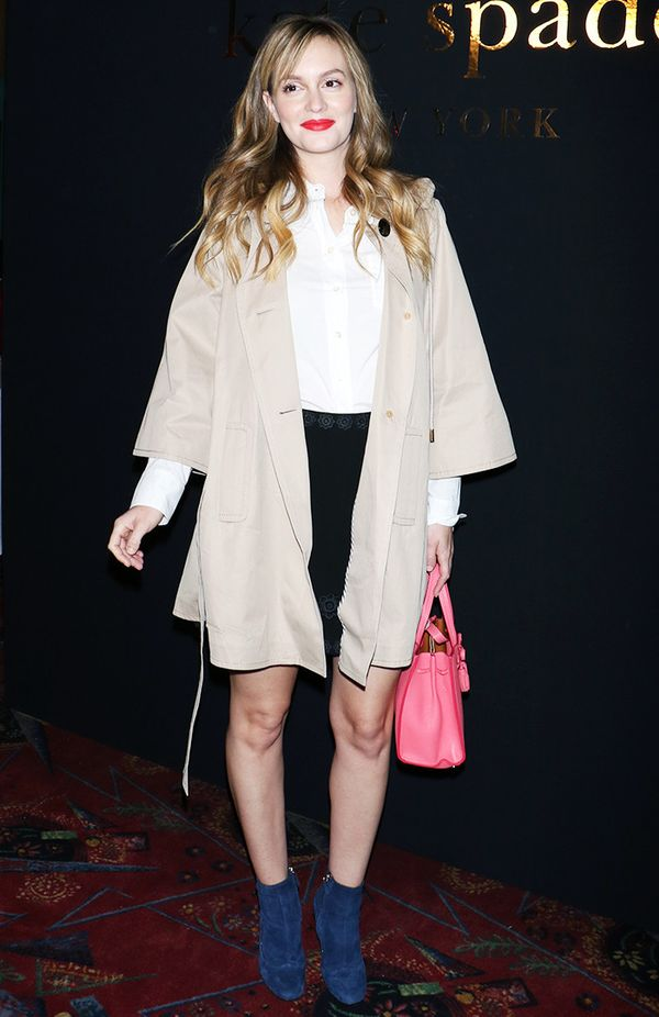 New York Fashion Week February 2017 Front Row: Leighton Meester